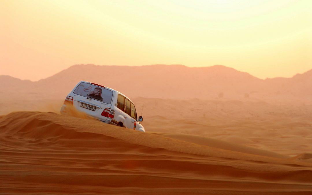 Emiraty Arabskie dla motomaniaków i nie tylko