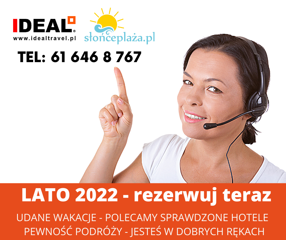 IDEAL Travel 2022 Lato promocja First Minute
